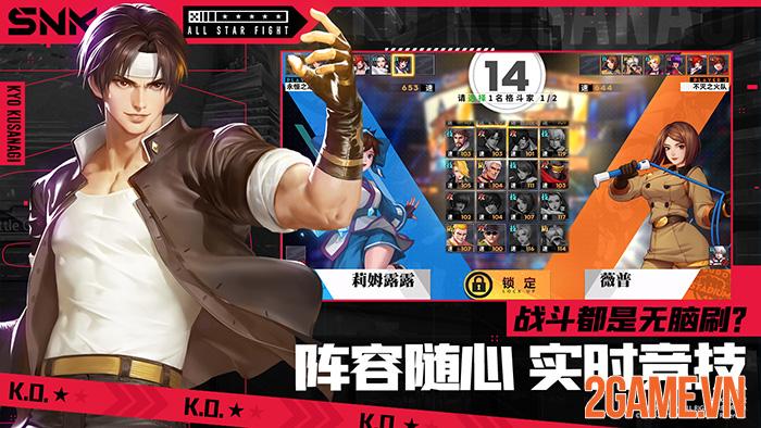 All Star Fight - Game đối kháng mobile tụ hội tất cả anh tài của SNK 0