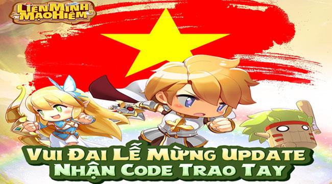Tặng 500 giftcode Liên Minh Mạo Hiểm mừng Big Update