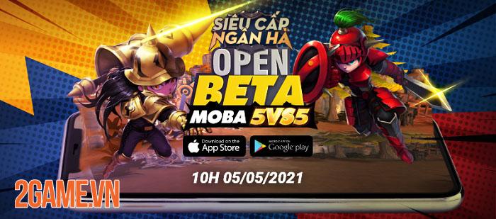 Hyper Rank - Siêu Cấp Ngân Hà: Game MOBA chibi 5v5 ấn định ra mắt Open Beta 4