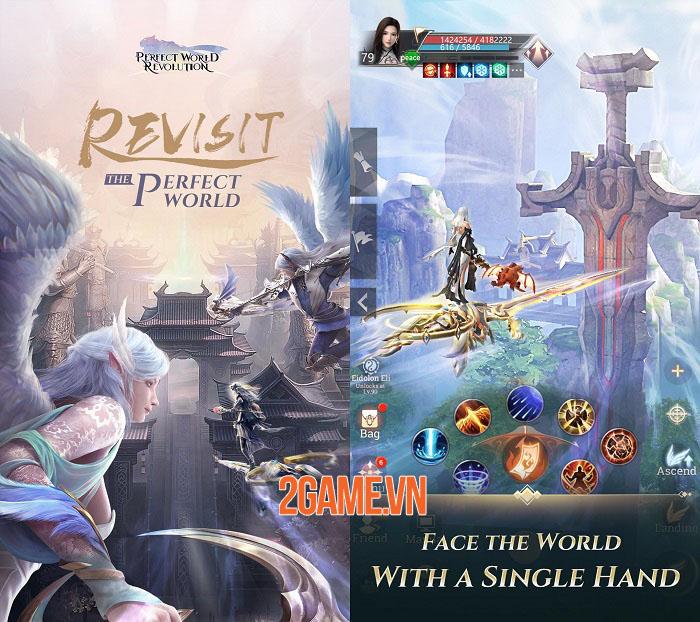 Perfect World: Revolution - Đối mặt với thế giới MMORPG 3D bằng 1 tay 0