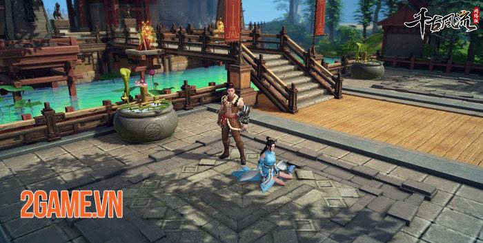 Thiên Cổ Phong Lưu Mobile - Game MMORPG 2,5D chất lượng hình ảnh cực nét 3