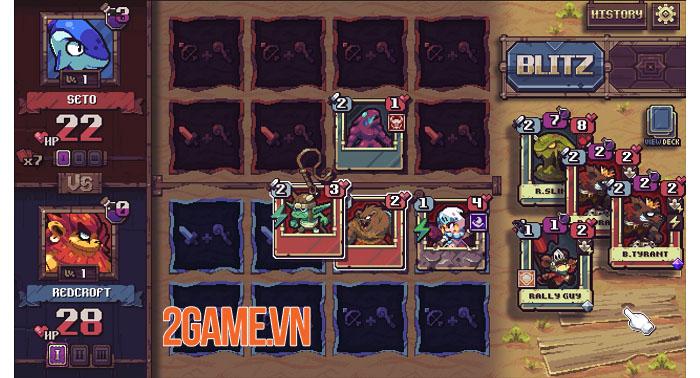 Cross Blitz - Game nhập vai thẻ bài giả tưởng đồ họa pixel đáng yêu 1