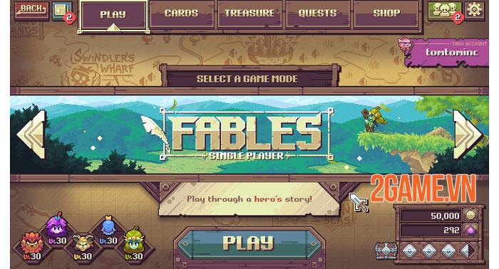 Cross Blitz - Game nhập vai thẻ bài giả tưởng đồ họa pixel đáng yêu 4