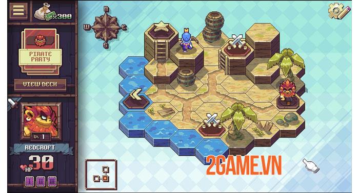 Cross Blitz - Game nhập vai thẻ bài giả tưởng đồ họa pixel đáng yêu 5