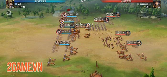 Mộng Chiến Quốc: Warring Kingdoms - Game SLG thế giới mở đồ họa full 3D 1