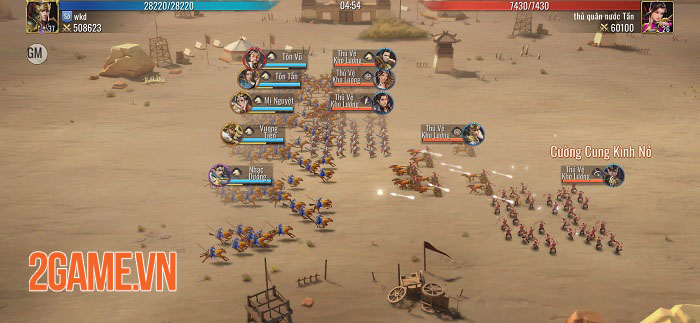 Mộng Chiến Quốc: Warring Kingdoms - Game SLG thế giới mở đồ họa full 3D 3