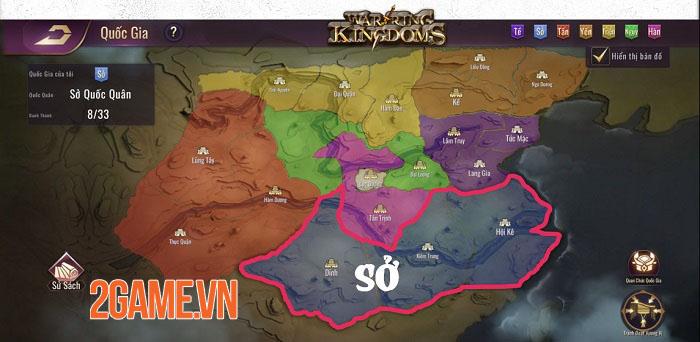 Mộng Chiến Quốc: Warring Kingdoms - Game SLG thế giới mở đồ họa full 3D 2