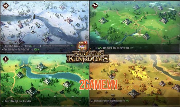 Mộng Chiến Quốc: Warring Kingdoms - Game SLG thế giới mở đồ họa full 3D 4