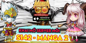 Tặng 305 giftcode game Manga GO
