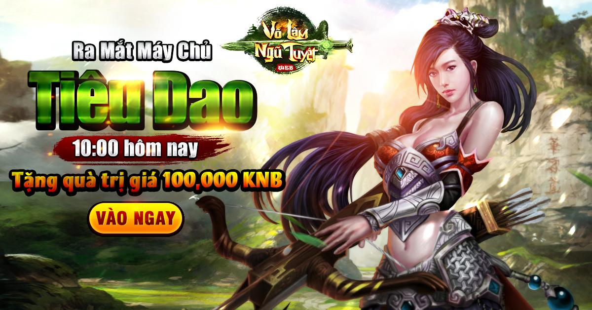 Tặng 310 giftcode game Võ Lâm Ngũ Tuyệt 1