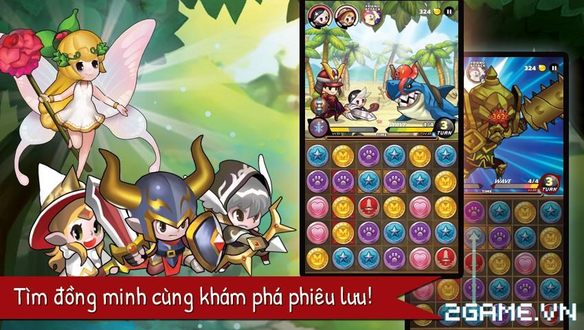 Puzzle Guardians – Game nhập vai xếp hình của Asiasoft chuẩn bị ra mắt game thủ Việt 0