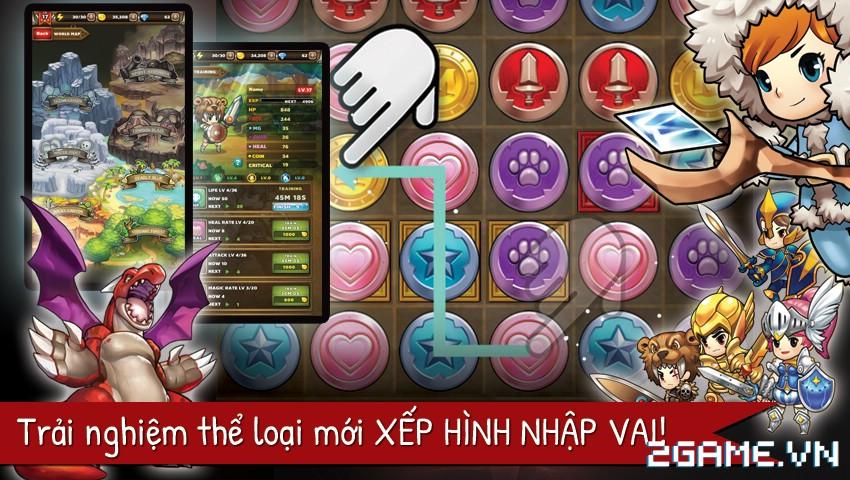 Puzzle Guardians – Game nhập vai xếp hình của Asiasoft chuẩn bị ra mắt game thủ Việt 1