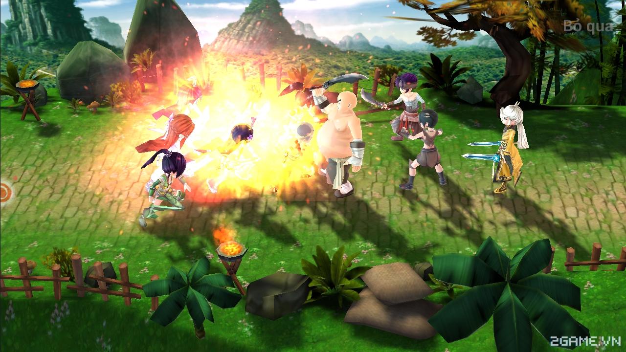 Có thể xem Giang Hồ Truyền Kỳ mobile là một phiên bản game nhập vai đánh theo lượt siêu nhỏ gọn