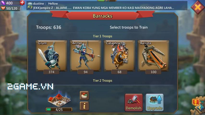 Lords Mobile mang đến cùng lúc hai mô thức chơi nhập vai và chiến thuật thú vị trên di động 6