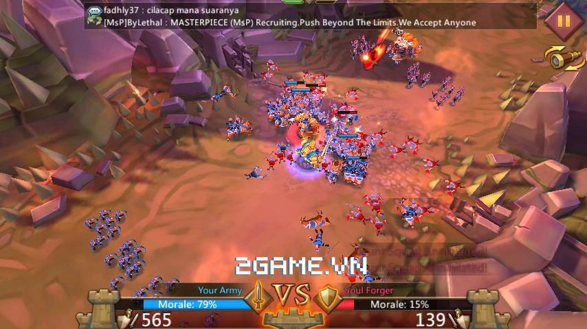 Lords Mobile mang đến cùng lúc hai mô thức chơi nhập vai và chiến thuật thú vị trên di động 7