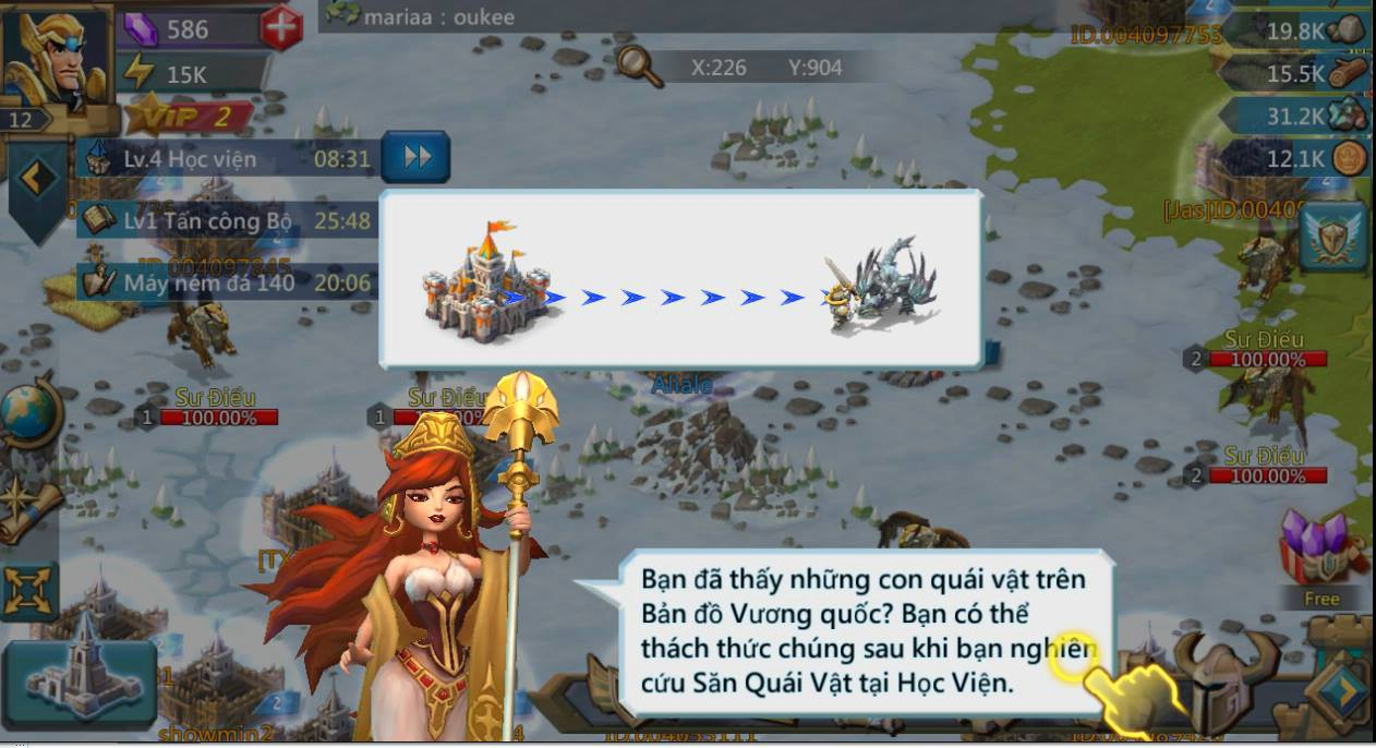 Lords Mobile mang đến cùng lúc hai mô thức chơi nhập vai và chiến thuật thú vị trên di động 11