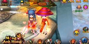 Tặng 220 giftcode Mộng Anh Hùng 3D