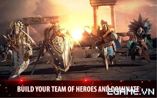 Kingdom Of War - Siêu phẩm game mobile của hãng GameVil Hàn Quốc 1