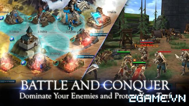 Kingdom Of War - Siêu phẩm game mobile của hãng GameVil Hàn Quốc 5