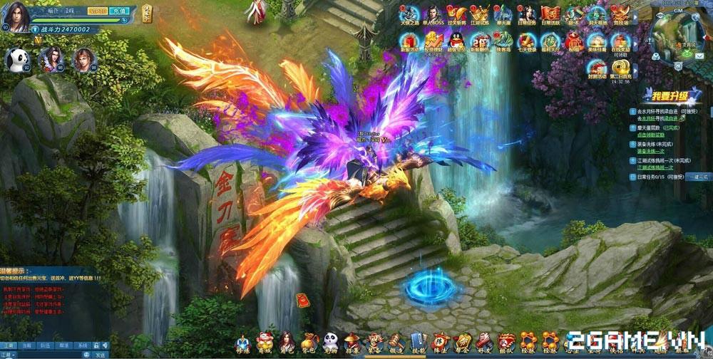 Top 5 game online dựa trên bộ tiểu thuyết kiếm hiệp của Kim Dung đáng chơi nhất 9