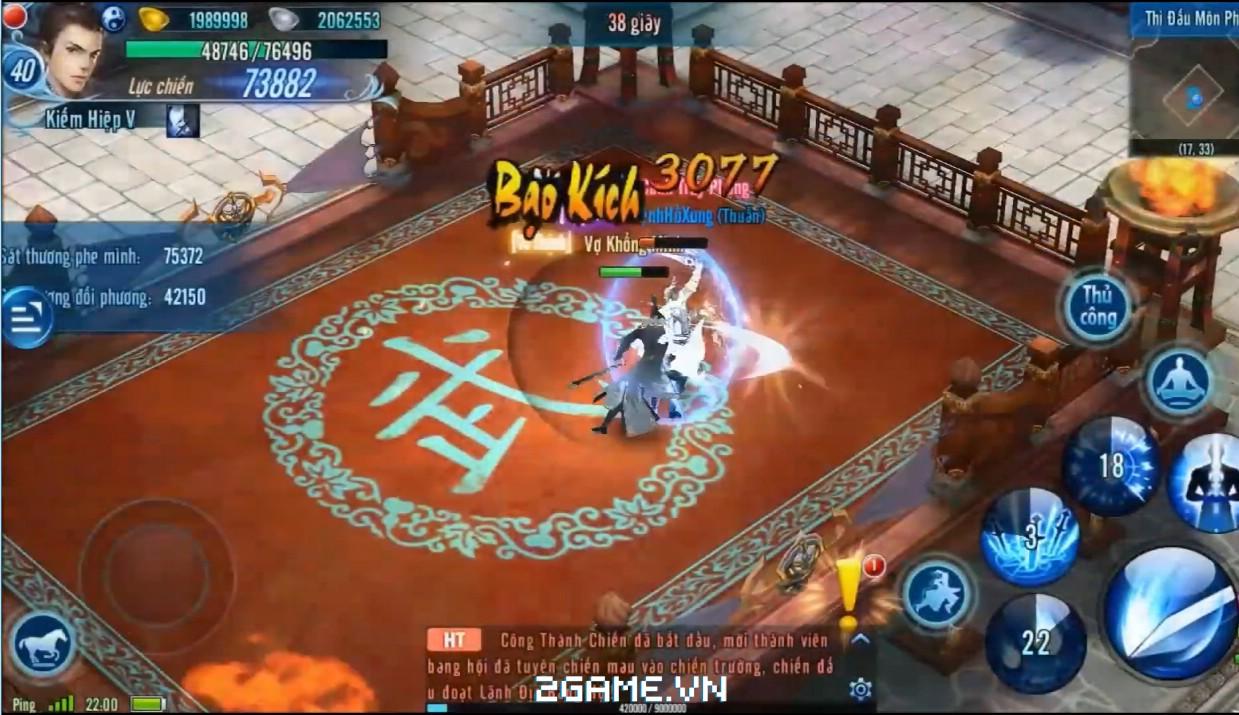 Võ Lâm Truyền Kỳ 1 mobile chính thức ra mắt tại Việt Nam 3