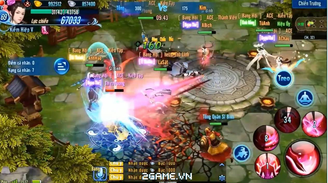 Võ Lâm Truyền Kỳ 1 mobile chính thức ra mắt tại Việt Nam 5