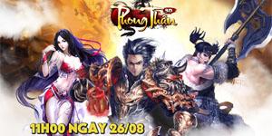 Phong Thần 3D ấn định ra mắt vào ngày mai, fan game nhập vai đừng bỏ lỡ!