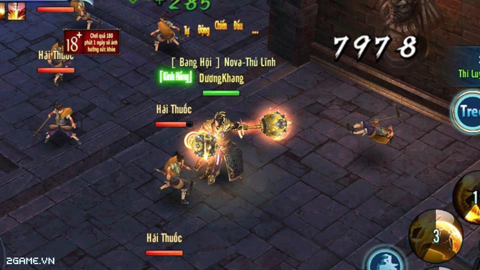 Võ Lâm Truyền Kỳ mobile rất đề cao tính PvP giữa người chơi với nhau