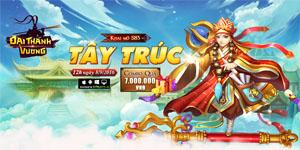 Tặng 1000 giftcode game Đại Thánh Vương mobile
