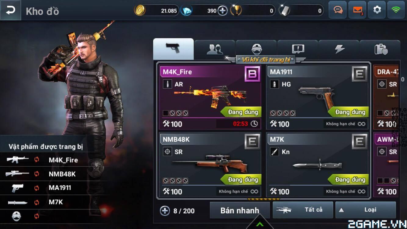 Xả đạn cùng Final Shot: Viên Đạn Cuối Cùng – FPS xứ Hàn cực hot vừa ra mắt trên mobile 8