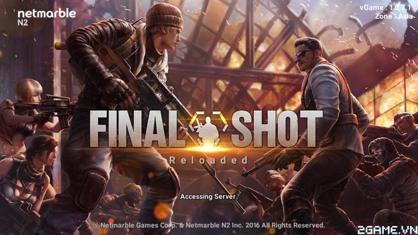 Xả đạn cùng Final Shot: Viên Đạn Cuối Cùng – FPS xứ Hàn cực hot vừa ra mắt trên mobile 0