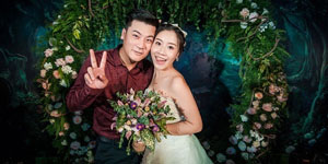 Thú vị trước một đám cưới dựng theo phong cách game Liên Minh Huyền Thoại