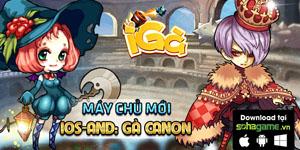 Tặng 585 giftcode game iGà
