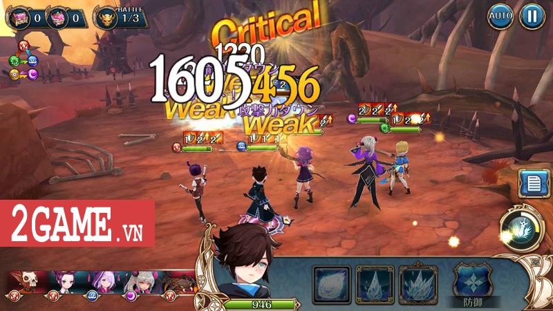 Knights Chronicle - Game mobile nhập vai mang đậm phong cách Nhật Bản ra mắt bản tiếng Anh 3