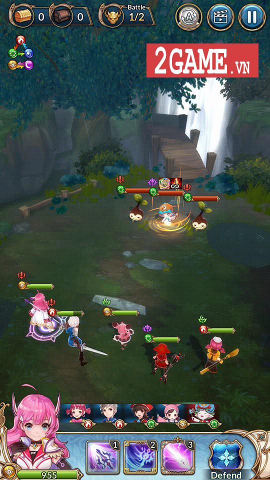 Knights Chronicle - Game mobile nhập vai mang đậm phong cách Nhật Bản ra mắt bản tiếng Anh 0