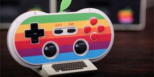 Khi tay cầm chơi game mượn ý tưởng máy tính Apple 30 năm về trước