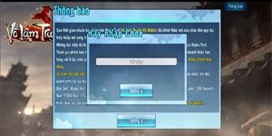Tặng 600 code kích hoạt tài khoản chơi Võ Lâm Truyền Kỳ mobile