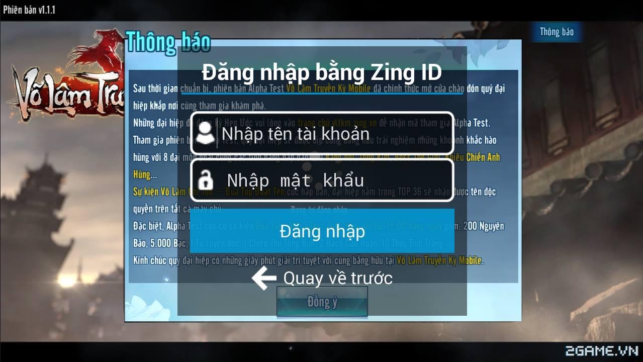 Tặng 600 code kích hoạt tài khoản chơi Võ Lâm Truyền Kỳ mobile 0