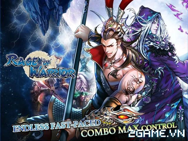 Rage of Warrior - gMO nhập vai đấu thẻ tướng có đồ họa ngộ nghĩnh