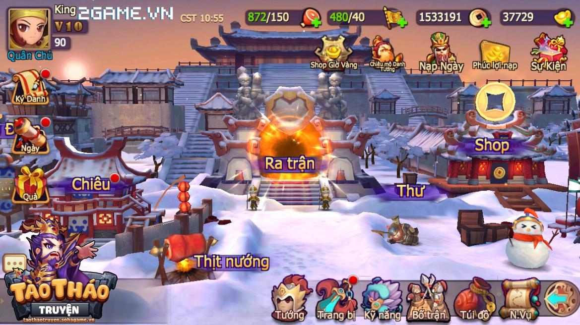 Tào Tháo Truyện 3D mobile sắp được Soha Game ra mắt tại Việt Nam