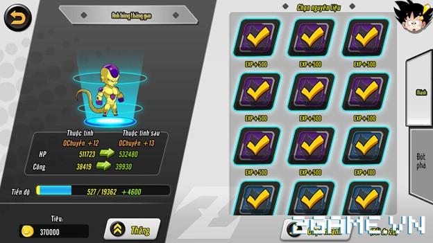 7 Viên Ngọc Rồng mobile – Hướng dẫn chi tiết về kỹ năng, nâng cấp đồng đội
