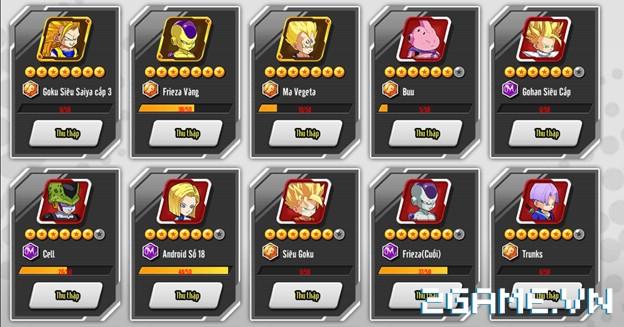 7 Viên Ngọc Rồng mobile - Hướng dẫn chi tiết về đồng đội 0
