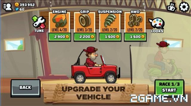 Hill Climb Racing 2 - Game mobile đua xe vui nhộn 2
