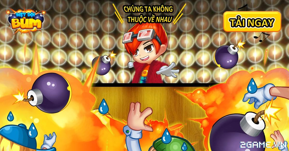 Biệt Đội Bùm - Dự án game mobile đặt bom do Việt Nam sản xuất ra mắt trang chủ