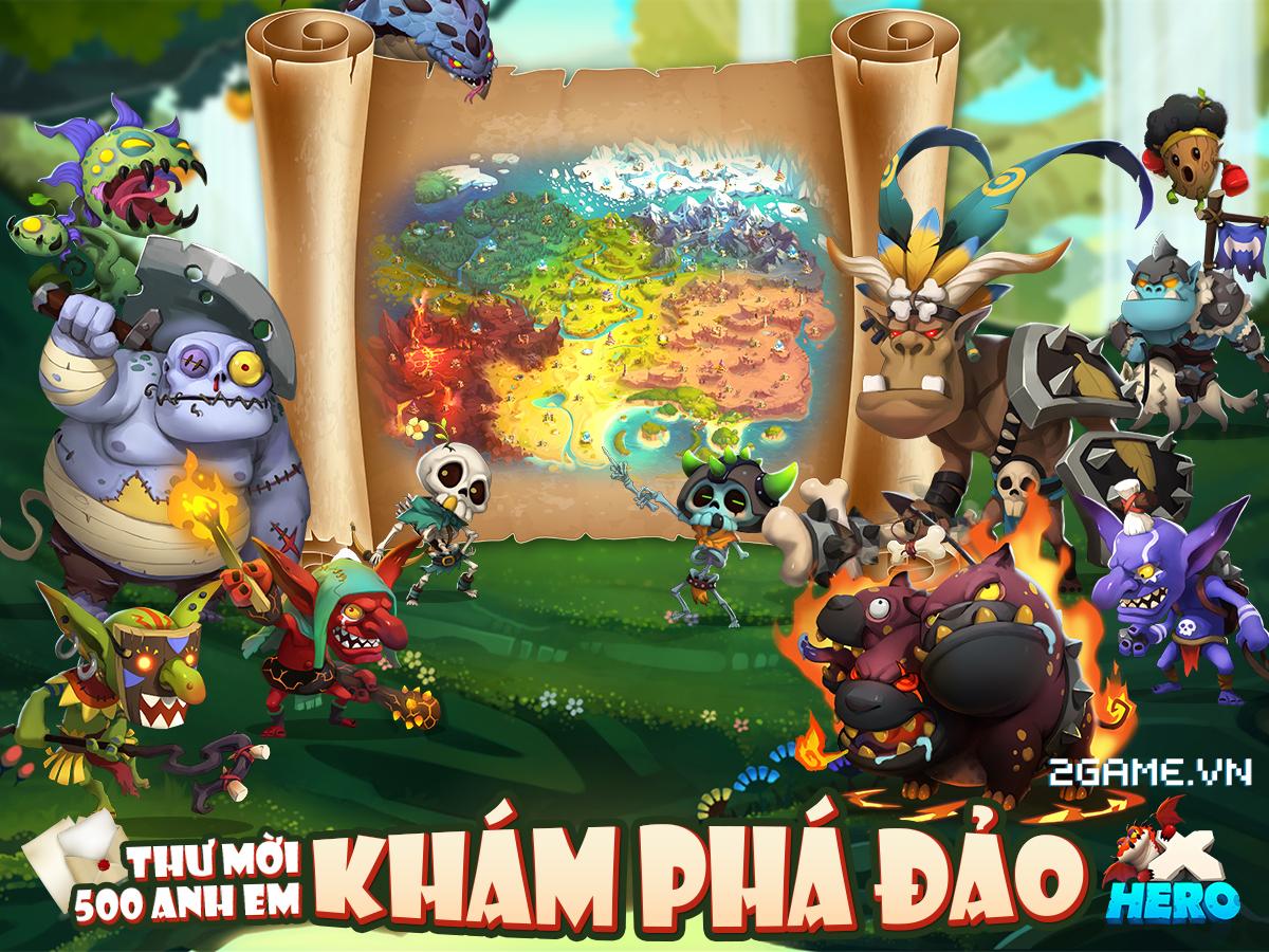 X Hero - Game mobile chiến thuật bàn cờ đặc sắc cập bến Việt Nam
