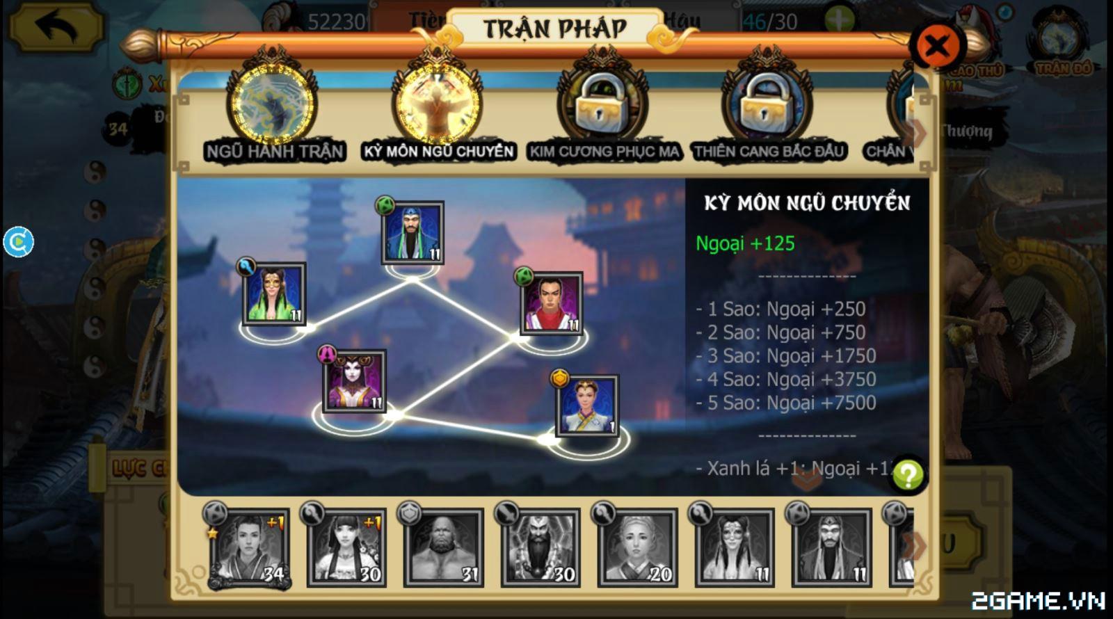 Hoa Sơn Luận Kiếm 3D - Tăng lực chiến vs Trận đồ, Thú cưỡi 2
