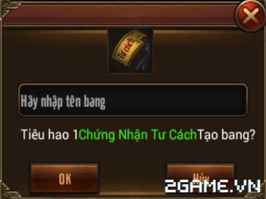 Võ Lâm Returns – Tính Năng Bang Hội