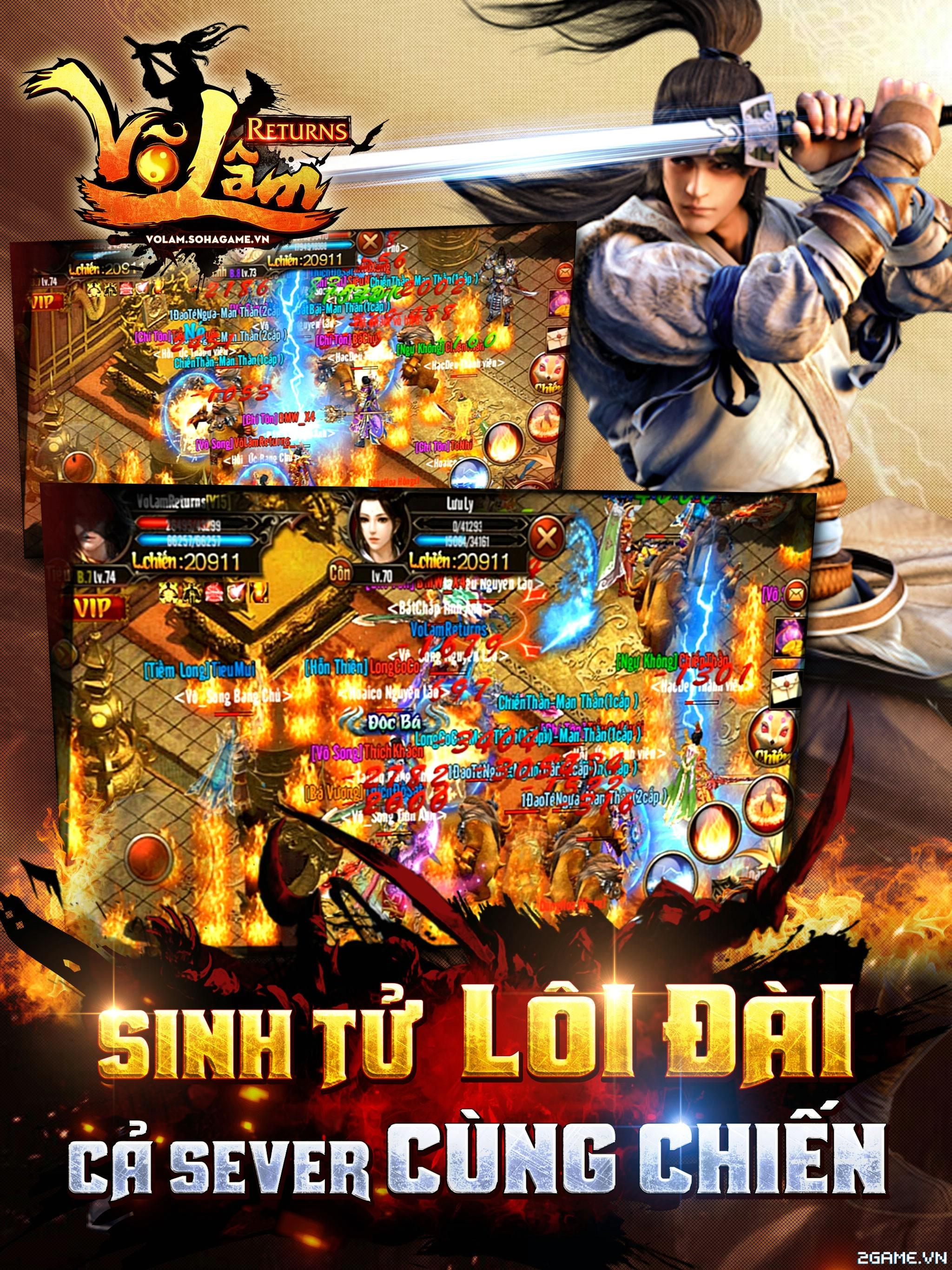 Võ Lâm Returns – Hoạt Động Lôi Đài Sinh Tử