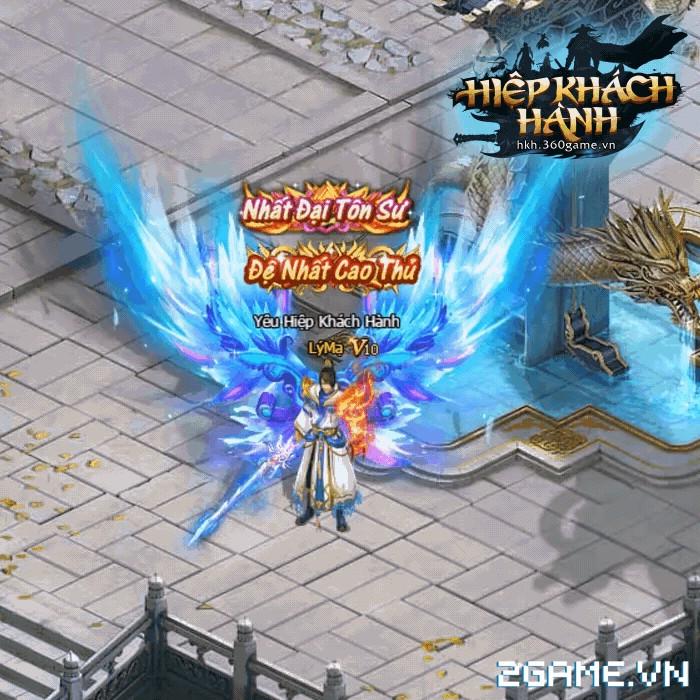 Hiệp Khách Hành VNG: Mãn nhãn với hệ thống cánh trong game 1