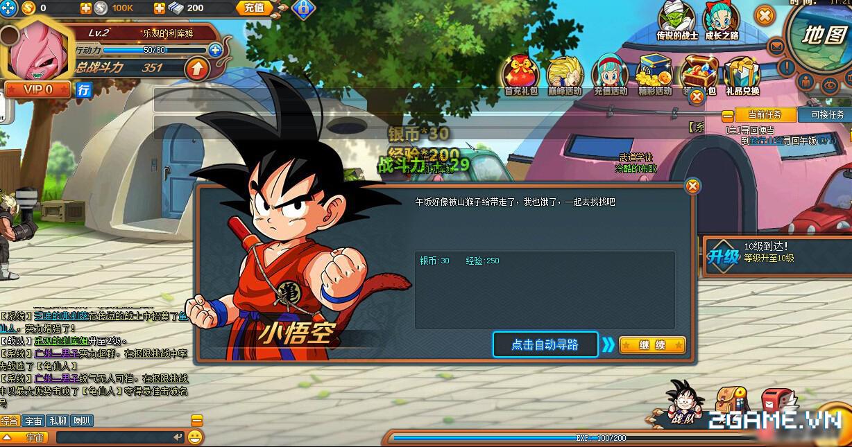 Webgame Dragon Ball: 7 Viên Ngọc Rồng chuẩn bị ra mắt game thủ Việt 2